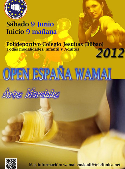 El Club Ken Thay de La Adrada en el Open de España WAMAI 2012