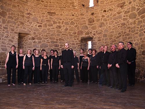 El Coro Al Alba en el Castillo