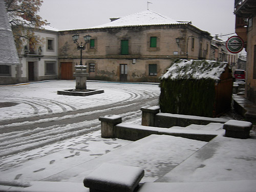 Nieve en La Adrada