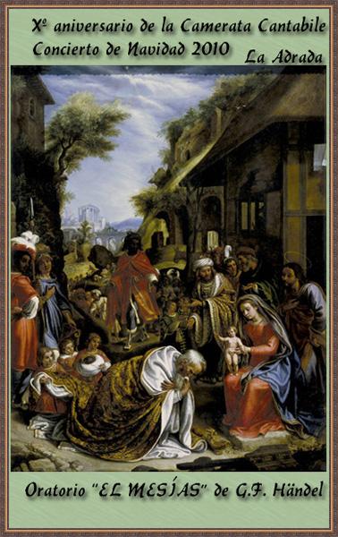 Broche de oro en la Navidad de La Adrada