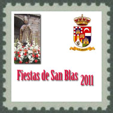 Fiestas de San Blas, 2011