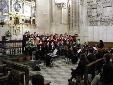 Nuevo éxito de La Camerata Cantabile en Toledo