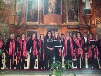 Órgano y voces en la liturgia