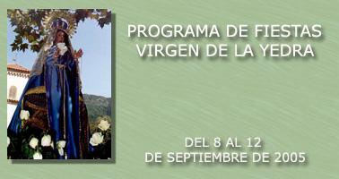 Fiestas de la Virgen de la Yedra 2005