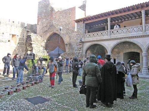 ¡Silencio, se rueda en el castillo de La Adrada!