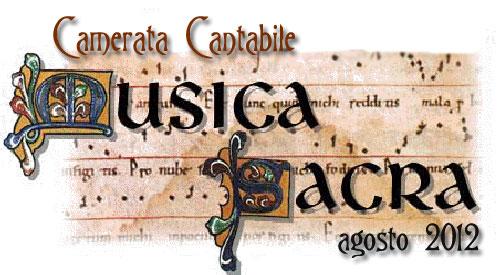 Conciertos de La Camerata Cantabile para el mes de agosto