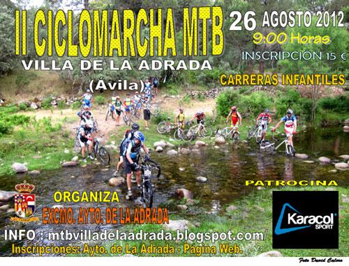 II Ciclomarcha MTB Villa de La Adrada