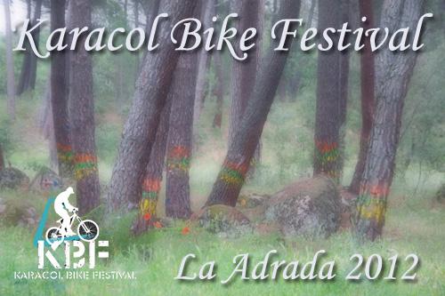 Centenares de ciclistas en el Karacol Bike Festival de La Adrada