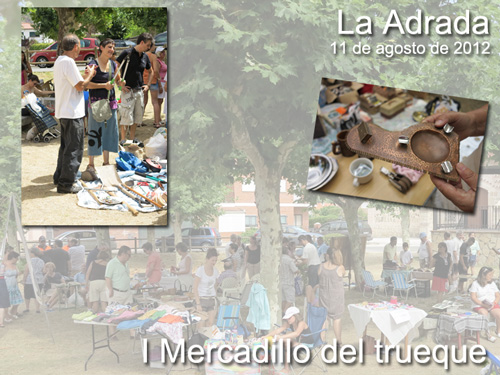I Rastrillo Mercado del trueque en La Adrada