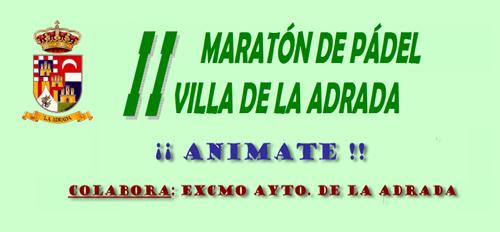 """Maratón de Padel """"Villa de La Adrada"""""""