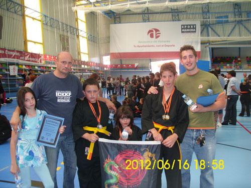 La Adrada alcanza un nuevo triunfo en el Open de Kajukembo 2012