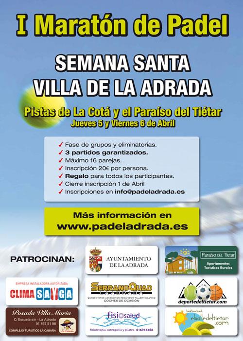 Maratón de Pádel en La Adrada