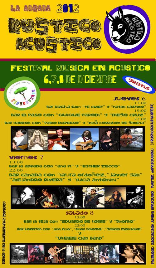 Primer Festival Rústico Acústico en La Adrada