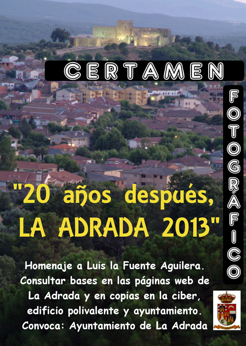 El Ayuntamiento de La Adrada convoca un certamen fotográfico