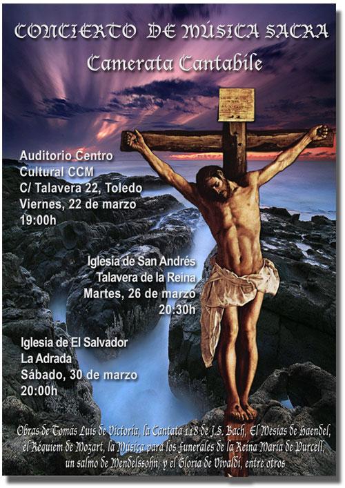 Música sacra para la Semana Santa en La Adrada
