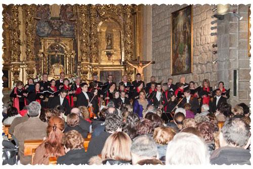 Gran concierto de música sacra en La Adrada