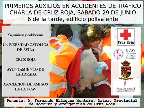 Charla sobre primeros auxilios en La Adrada