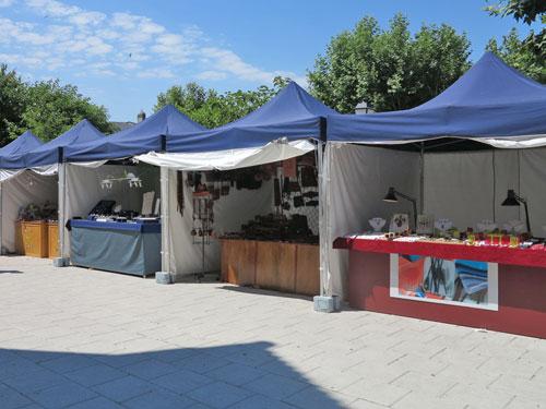 Se celebró en La Adrada la III Feria de Artesanía
