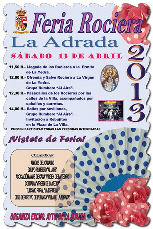 Feria rociera 2013 en La Adrada
