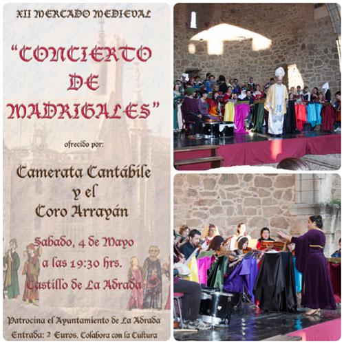 Gran éxito del Concierto de Madrigales 2013
