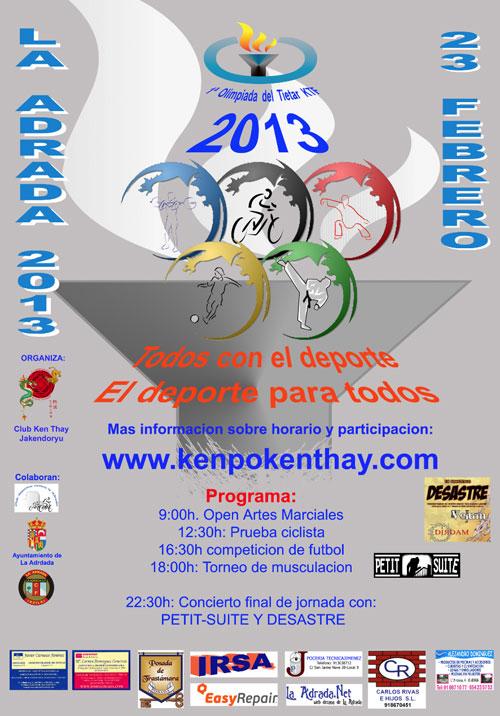 La Adrada celebra la primera Olimpiada del Tiétar KTF