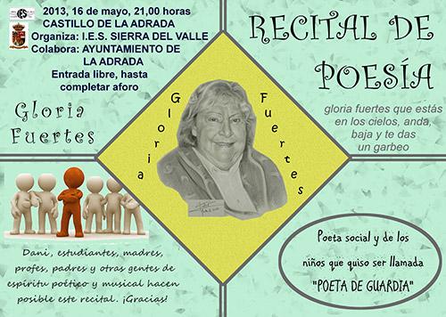 Recital de poesía en el Castillo de La Adrada