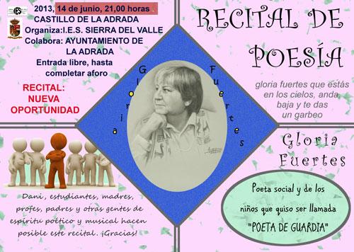 Recital de poesía en La Adrada