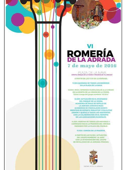 VI Romería de La Adrada, el 7 de mayo