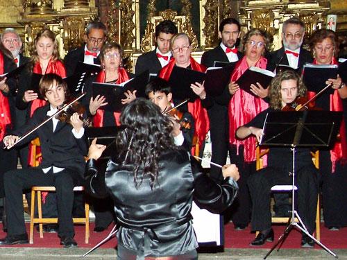 Coral y Orquesta El Salvador de La Adrada