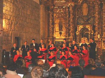 Encuentro Coral de Navidad 2002 en La Adrada