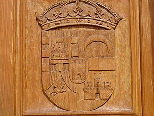 Escudo puerta del Ayuntamiento de La Adrada