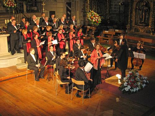 Misa cantada por La Camerata Cantabile en la Catedral de Ávila