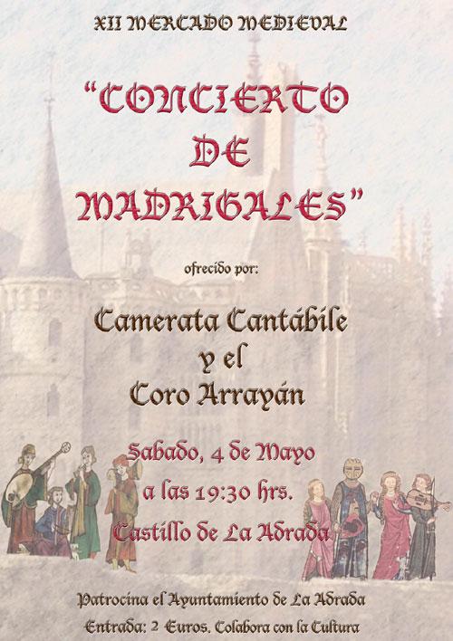 Concierto de Madrigales 2013 en La Adrada