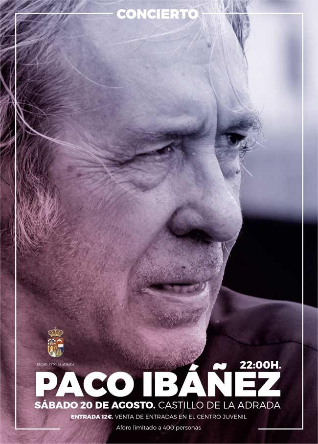 Actuación de Paco Ibañez