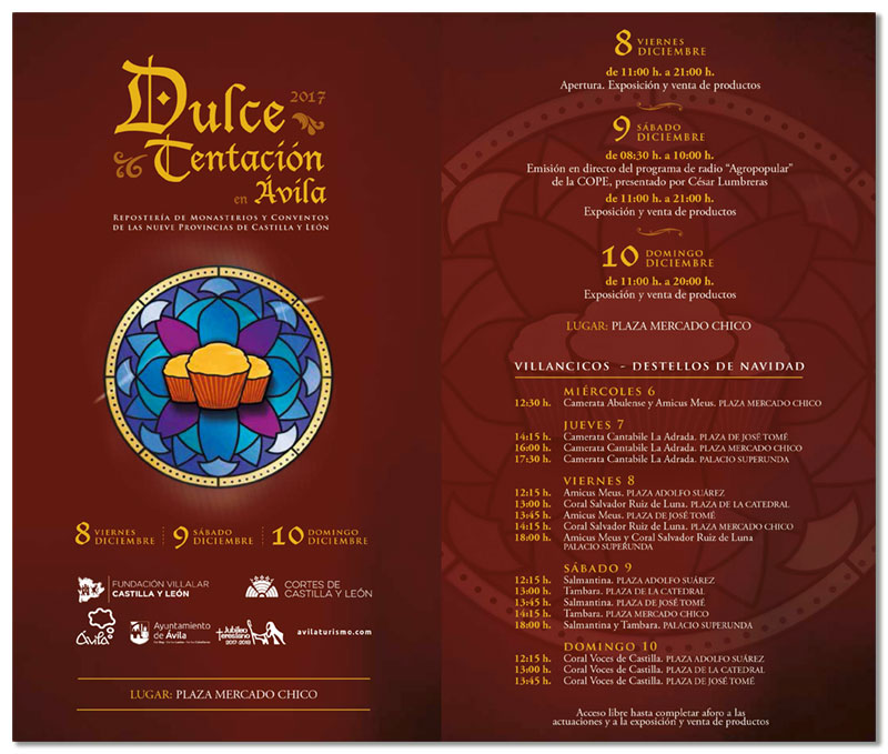 La Camerata Cantabile en la muestra «Dulce Tentación»de Ávila