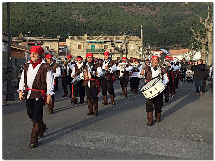Carnaval de invierno de La Adrada- Año 2017
