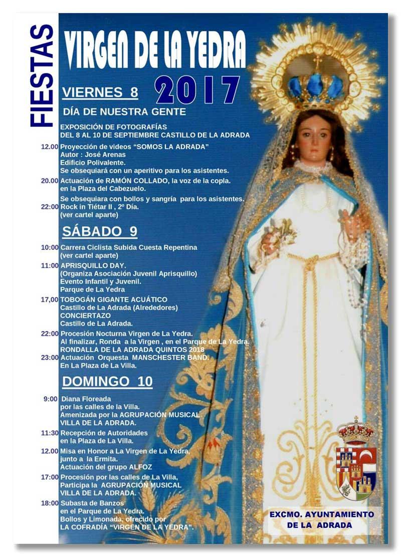 Fiestas de la Virgen de la Yedra