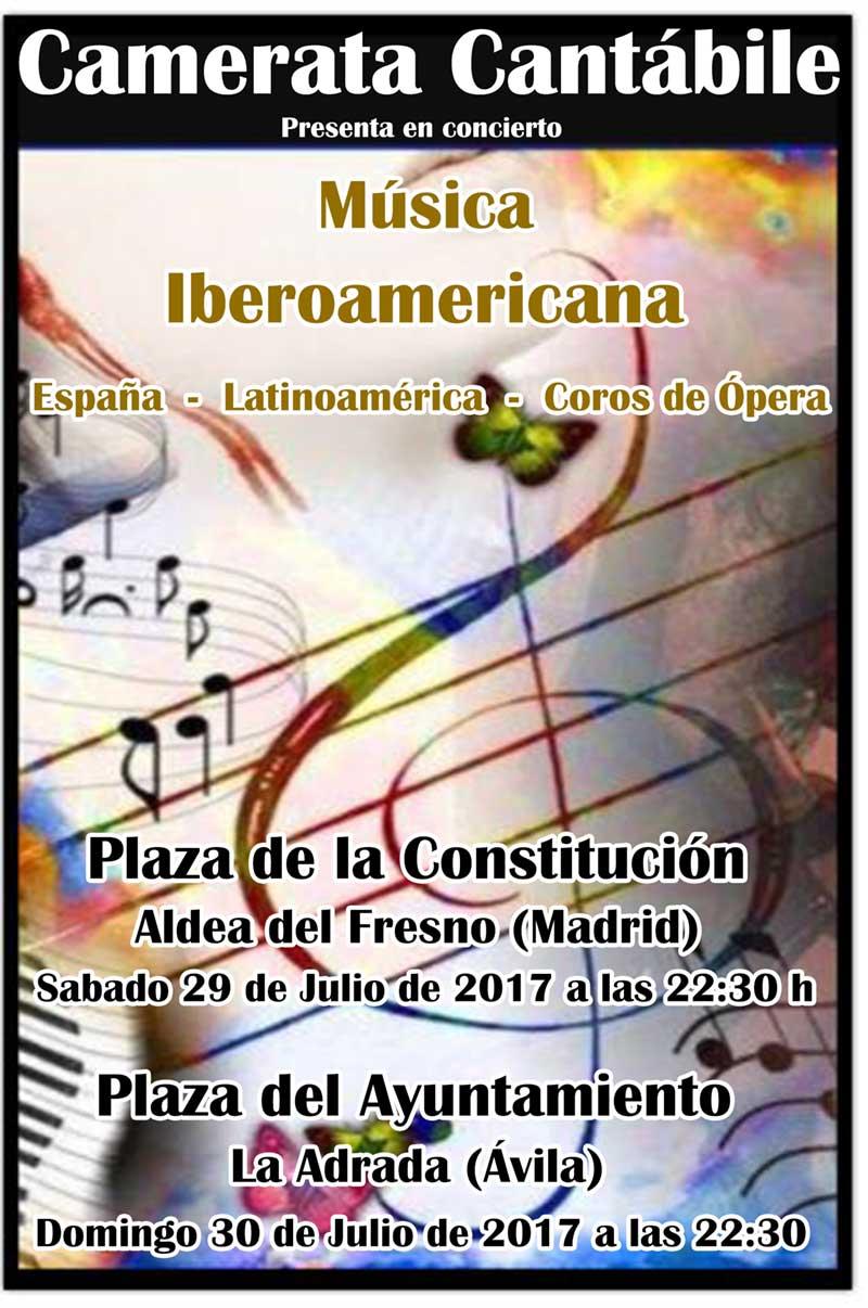 Música Iberoamericana en La Adrada