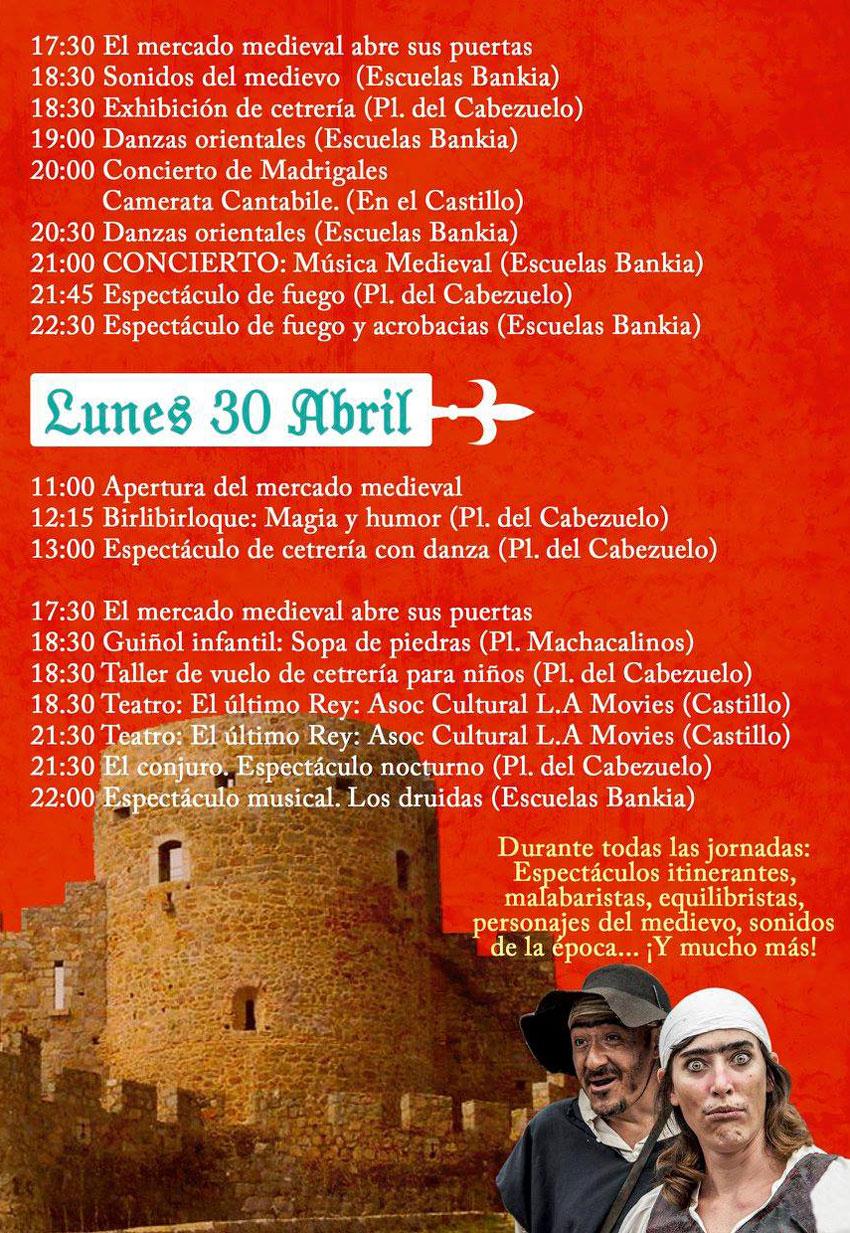 XVII Mercado Medieval de La Adrada