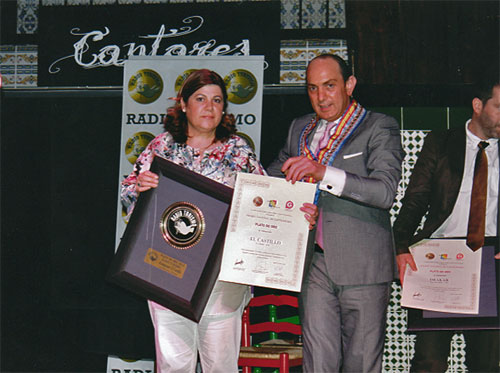 Premio al Restaurante El Castillo