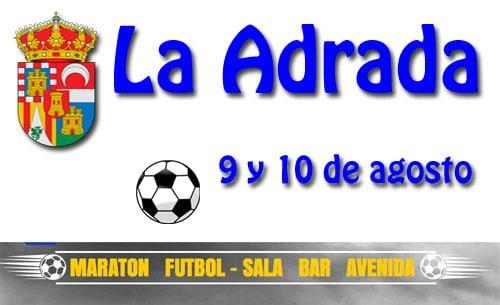 Campeonato de fútbol sala en La Adrada