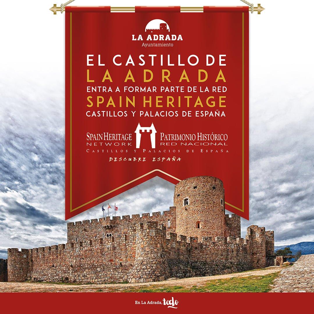 CARTEL EL CASTILLO DE LA ADRADA