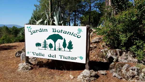 El Jardín Botánico Valle del Tiétar
