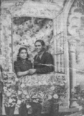 Ángel Cuerva (fotógrafo)  y Carmen Hernández (años 40)