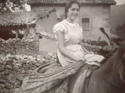 A caballo. Años 60
