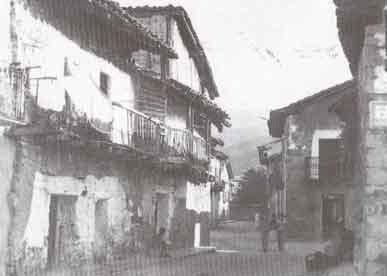 Calle de la Reguera (1960).