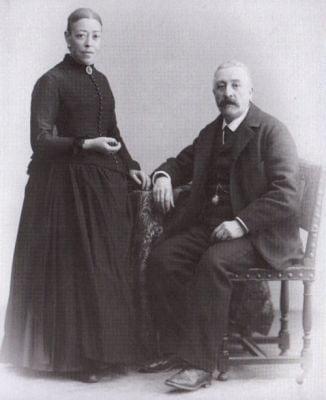 Casto Rodriguez Rivas y Sra (1890)