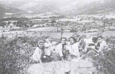 Desde el Torrejón. Años 50.