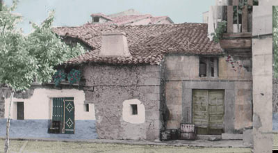 El Cotano. Fotografía coloreada (José Miguel Sánchez Lanchas).