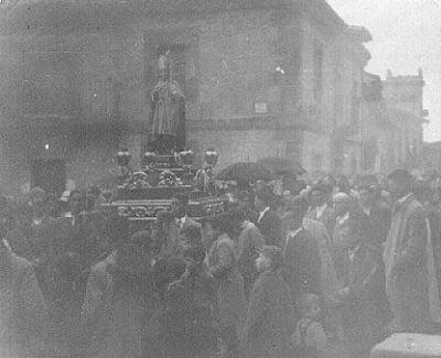 Fiestas de San Blas. Años 50.
